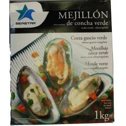 Mexilhão Meia Casca  1Kg